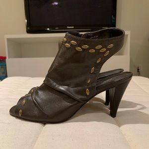 Brown Leather Preview International Heels
